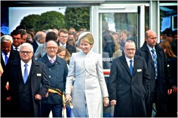 Koningin Mathilde.