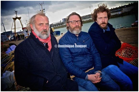 Sam Louwyck, Wim Willaert, Sebastien Dewaele.