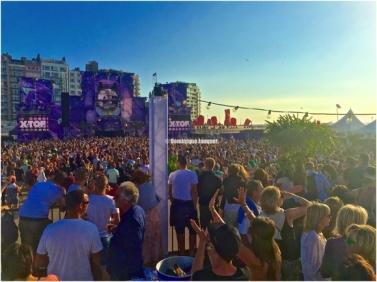 Ostend Beach Dancefestival.