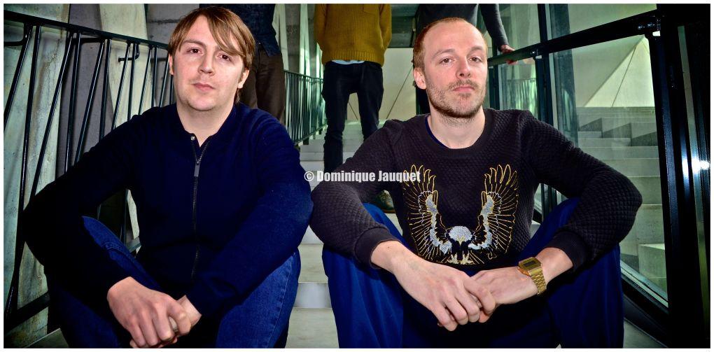 Mich en Johannes Verschaeve (The Van Jets).
