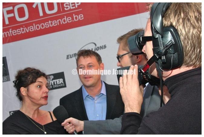 Bart De Pauw en Hilde Van Mieghem.
