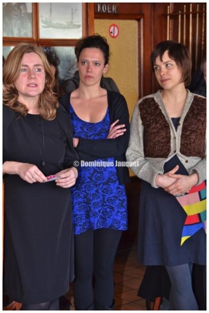 Ilse Somers, Marieke Dilles, Eline Cuppens (cast Weekend aan Zee).