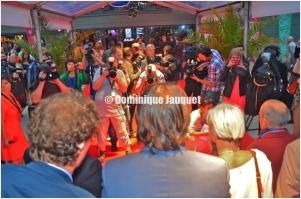 Cast 'Los Flamencos'.