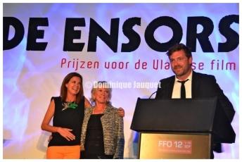 Barbara Sarafian, Chris Lomme & Geert Van Rampelberg.