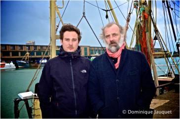 Gilles Coulier en Sam Louwyck.