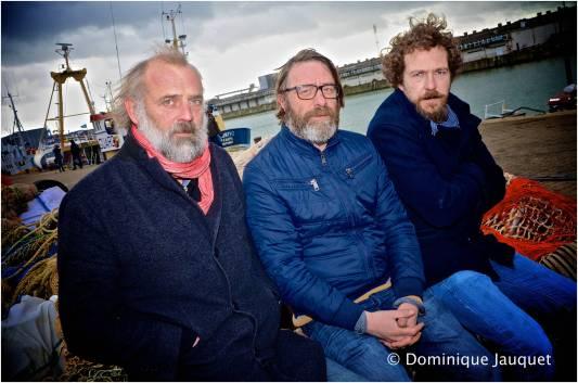 Sam Louwyck, Wim Willaert, en Sebastien Dewaele.