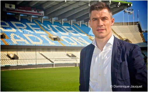 Roel Vaeyens (sportief verantwoordelijk Club Brugge)