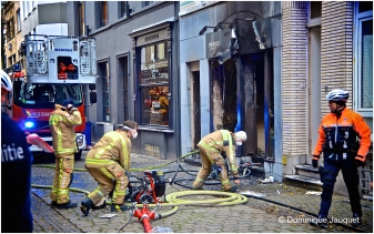 Brand, Sint-Franciscusstraat Oostende.