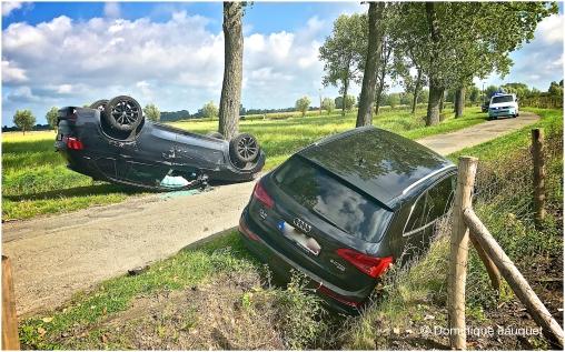 Ongeval, Geleedstraat Zandvoorde.
