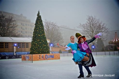 Alice in Wonderland on Ice.