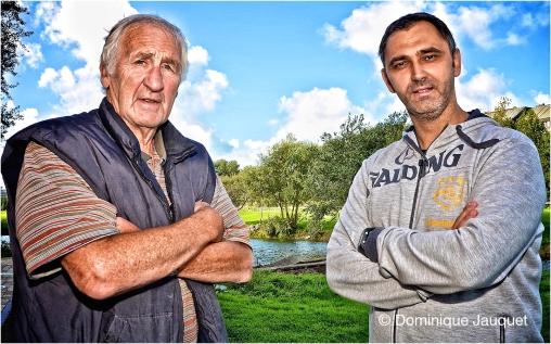 Lucien Vankerschaever & Dario Gjergja.