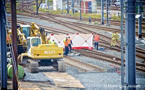 Dodelijk treinongeval.