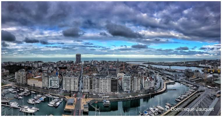 Ostend Skyline.